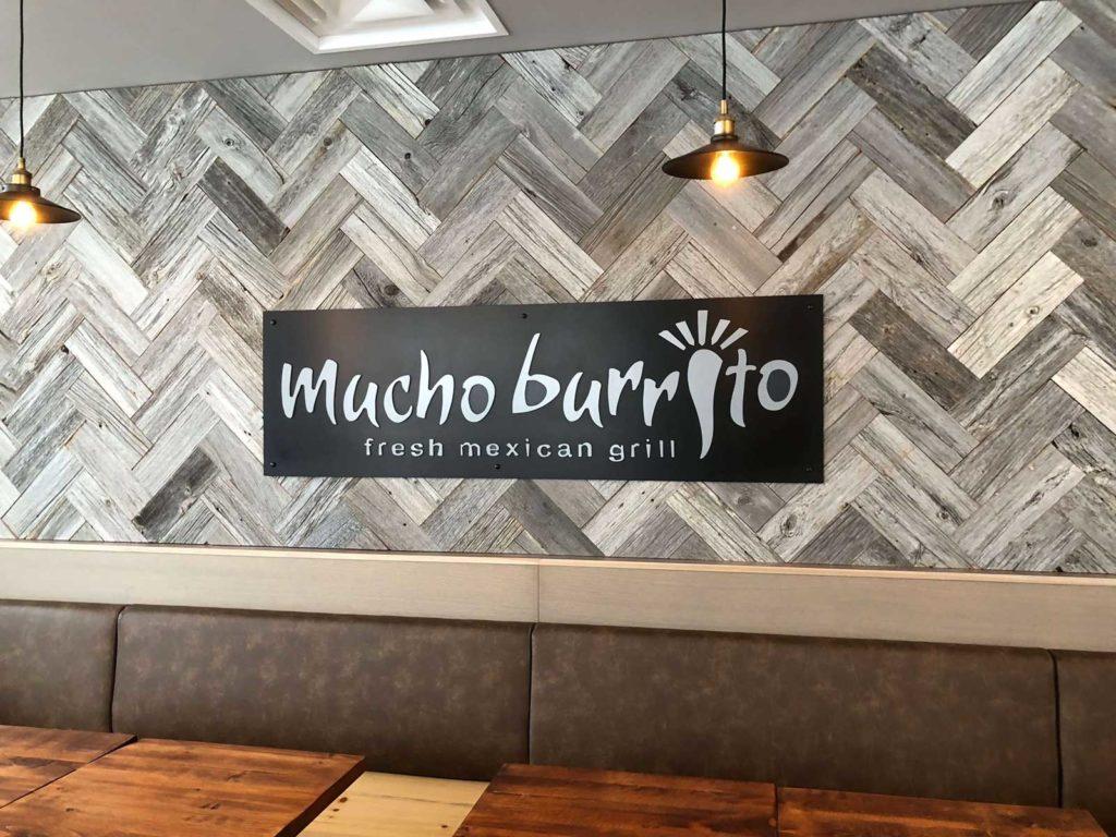 mucho burrito franchise sign